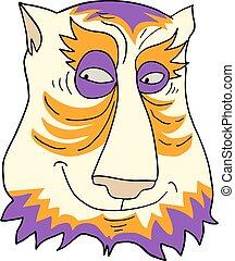 Imaginative face draw