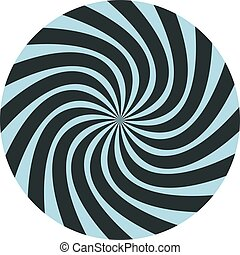imaginative round background - Creative design of...