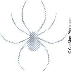 imaginative spider symbol