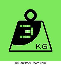 imaginative three weight icon