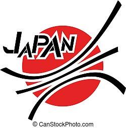 Japan emblem design