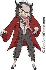 japanese wild demon - Creative design of japanese wild demon