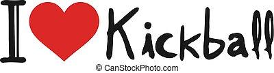 Kickball love message
