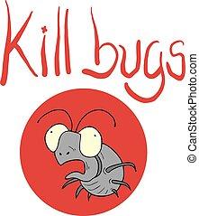 kill bugs icon