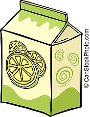 lemon lime juice box - creative design of lemon lime juice ...