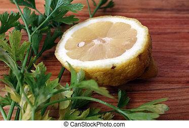 Lemon parsley