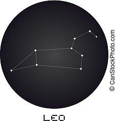 Leo icon - Creative design of Leo icon