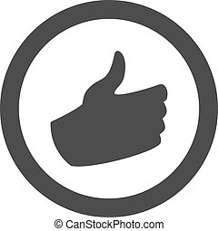 like hand symbol - Creative design of like hand symbol