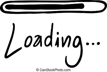 Loading message - Creative design of Loading message
