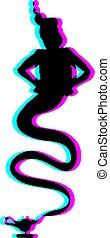 magic genius draw - Creative design of magic genius draw