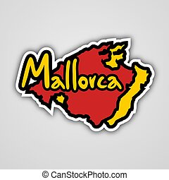 Mallorca symbol - Creative design of Mallorca symbol
