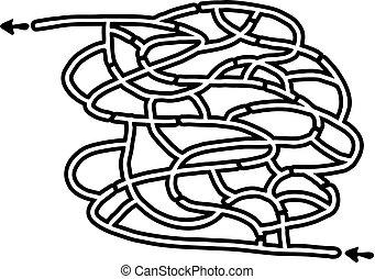 maze game draw