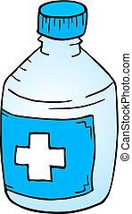medicine bottle draw