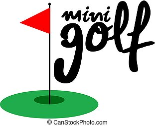 mini golf clipart and stock illustrations 106 mini golf vector eps rh canstockphoto com free mini golf clipart images minigolf clipart pictures