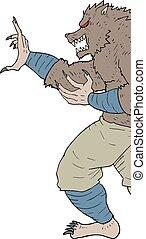 Monster cartoon - Creative design of Monster cartoon