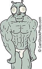 muscle alien