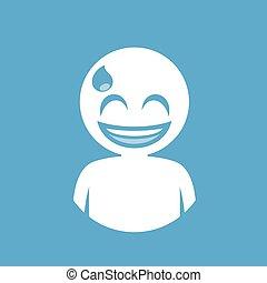 nervous face icon