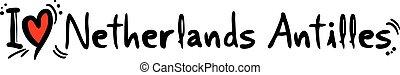 Netherlands Antilles love - Creative design of Netherlands ...