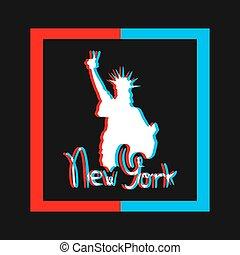new york visual art style - Creative design of new york ...