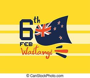 nice 6tb waitangi day - Creative design of nice 6tb waitangi...