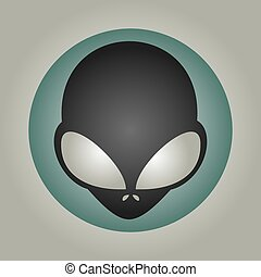 nice alien mask - Creative design of nice alien mask