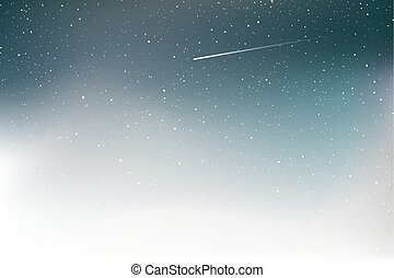 nice art shooting star background