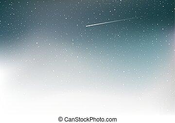 nice art shooting star background