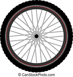 nice Btt bike wheel