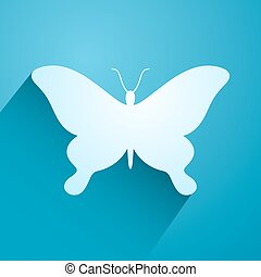 nice butterfly icon