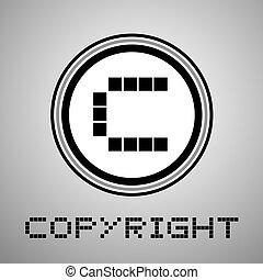 nice copyright symbol