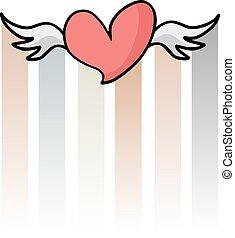 nice fly heart