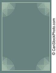 nice green frame background