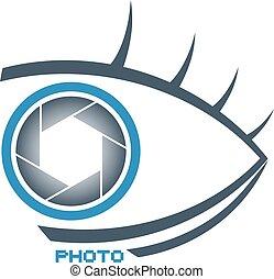 nice photo studio eye symbol