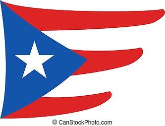 nice puerto rico symbol