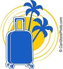 nice summer holidays illustration