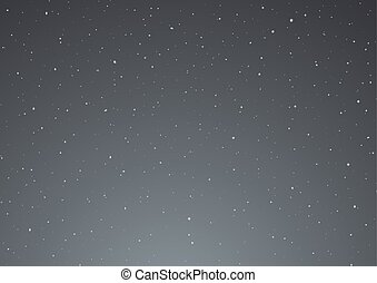 night sky vector design