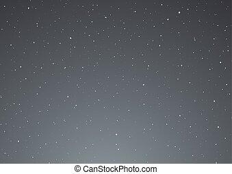 night sky vector design