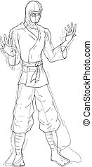 ninja sketch draw