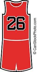 number 26 in basket shirt - Creative design of number 26 in...