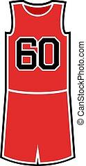 number 60 in basket shirt - Creative design of number 60 in...