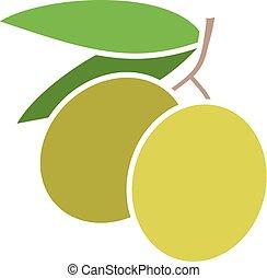 olive icon design