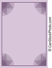 original purple frame background