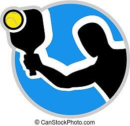 padel circle symbol