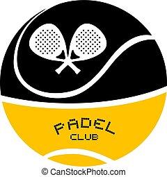 Padel club emblem