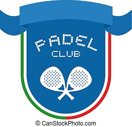 padel club symbol design