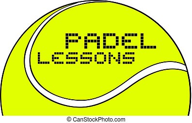 padel lessons message