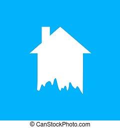 paint home symbol