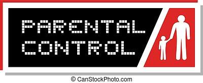 Parental control symbol