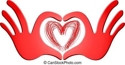 passion red symbol