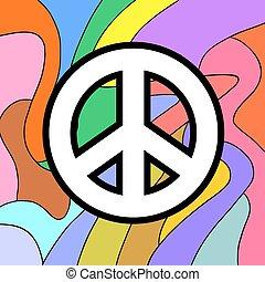 peace color art symbol